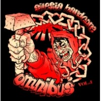"v/a ""Silesia Hardcore Omnibus vol.1"" 7""EP black and red marbled vinyl limited"