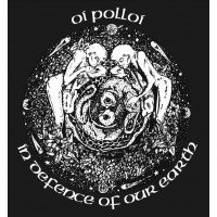 "OI POLLOI ""In defence of our earth (okrągły)"" ekran"
