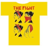 "FIGHT, THE ""Bandana"" biała damska T-shirt"