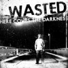 """WASTED """"Here Comes The Darkness"""" LP"""
