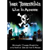 """INNER TERRESTRIALS """"Live in Auxerre"""" DVD"""