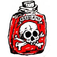 P.R.O.B.L.E.M.S. - Flacha (problems)  T-shirt
