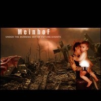 "MEINHOF ""Under the burning sky of future events"" CD"