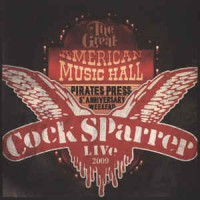 "COCK SPARRER ""Back in San Francisco"" 2xLP+DVD"