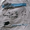 "MINOR THREAT ""Out of step"" (szara) kaptur"