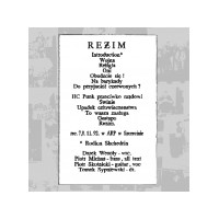 "REŻIM ""Reżim"" LP+CD"