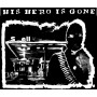 "His Hero Is Gone ""15 counts..."" (white print) backpatch"