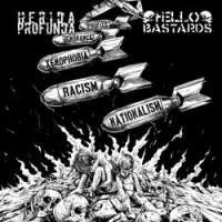 "HELLO BASTARDS / HERIDA PROFUNDA  split 7""EP"