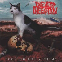 "DEAD INFECTION / PARRICIDE ""‎Looking For Victims / The Idealist"" split 7""EP"