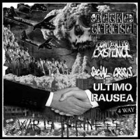 "v/a ""War Is Business"" (MATKA TERESA, CONTROLLED EXISTENCE, SOCIAL CRISIS, ULTIMO RAUSEA)  7""EP"