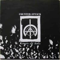 """COUNTER-ATTACK """"Laments And Skulls"""" LP"""