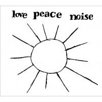 "EWA BRAUN ""Love Peace Noise"" white vinyl limited LP"