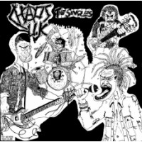 """CHAOS UK """"The Singles (Compilation)"""" LP"""