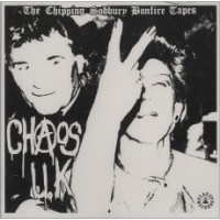 "CHAOS UK ""The Chipping Sodbury Bonfire Tapes"" LP"