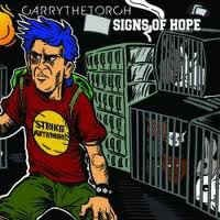 "CARRY THE TORCH / SIGNS OF HOPE  split 7""EP"