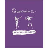"QUARANTINE ""Know Where You Stand"" (fioletowa) damski T-shirt"