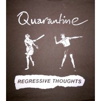 "QUARANTINE ""Know Where You Stand"" (brown) T-shirt"