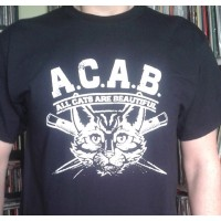 ACAB - All Cats Are Beautiful -  T-shirt