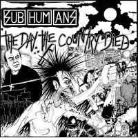 SUBHUMANS - The Day The Country Died Jigsaw - Artwork By Nick Lant – puzzle