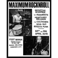 Maximumrocknroll *395 (Apr 2016)