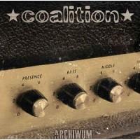 """COALITION """"Archiwum"""" LP clear vinyl"""