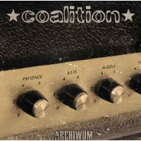 "COALITION ""Archiwum"" LP transparent red vinyl"