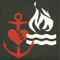 "BOUNCING SOULS / HOT WATER MUSIC split 7""EP White With Red & Black Splatter"
