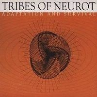 """TRIBES OF NEUROT """"Adaptation and survival"""" 2xCD (worn cover)"""
