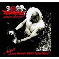 """NA ZEWNATRZ """"Zerwac kajdany + live Punk Fest Baltow"""" CD"""
