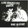 """GOVERNMENT ISSUE """"Make An Effort"""" 7""""EP (white / orange vinyl)"""