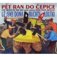 """UZ JSME DOMA """"Pět Ran Do Čepice – Five Beats To The Hat (Rat's Songs)"""" CD"""