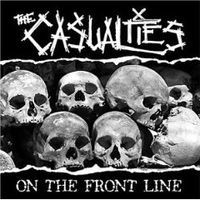 """CASUALTIES """"On the Front Line"""" CD"""