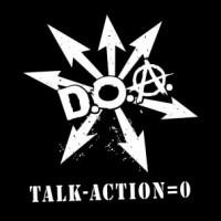 """D.O.A. """"Talk Minus Action Equals Zero"""" (DOA) LP"""