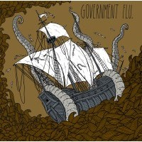 "GOVERNMENT FLU ""Fuck poetics + Demo 2008"" CD"