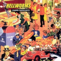 """HELLWORMS """"Crowd repellent"""" CD"""