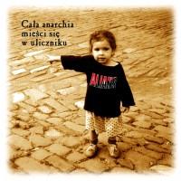 """ALIANS """"Cała anarchia mieści się w uliczniku"""" CD"""