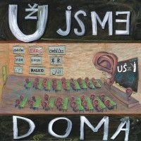 """UZ JSME DOMA """"Uszy - Uši - The Ears"""" (przeroczysty winyl)  LP"""