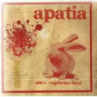 """APATIA """"100% vegetarian band"""" CD"""