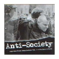 "v/a ""Anti-Society, Anarcho punk Vol.3"" CD"