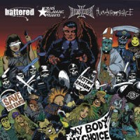 v/a: BATTERED / CZAS ZŁAMAĆ PRAWO /  HELLISHEAVEN/ HUMARROGANCE 4 way split LP
