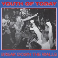 """YOUTH OF TODAY """"Break Down The Walls"""" LP"""