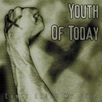 """YOUTH OF TODAY """"Can't close my eyes"""" LP"""