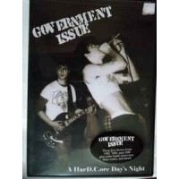 """GOVERNMENT ISSUE """"A HarDCore Day's Night"""" DVD"""