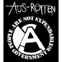 "Aus Rotten ""People are not expandable""  kaptur"