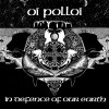 """OI POLLOI """"In defence of our earth"""" damski T-shirt"""