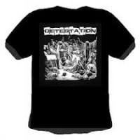 DETESTATION - album cover T-shirt