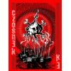 CZOSNEK (kominy, czerwona) – damska T-shirt