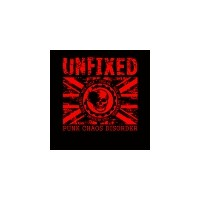"UNFIXED ""Punk Chaos Disorder"" (red print) T-shirt"