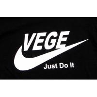 Vege – just do it (nike logo) – damska T-shirt