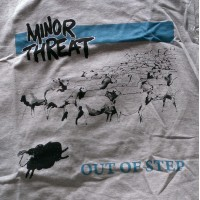 "MINOR THREAT ""Out of step"" (grey) T-shirt"